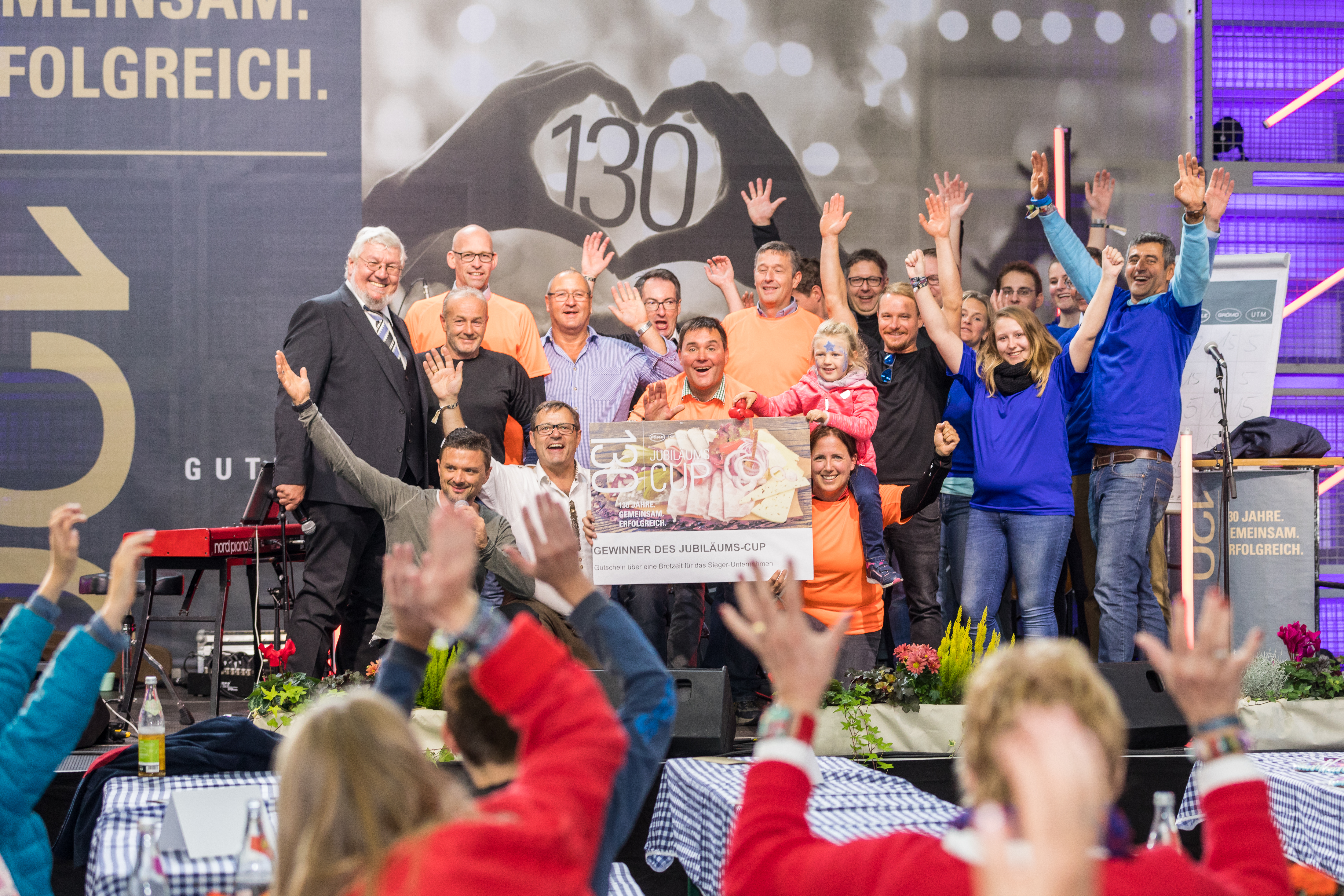 Rösle Gasgrill Jubiläum : Unternehmensgruppe dankt mitarbeitern mit großem familienfest grÖmo